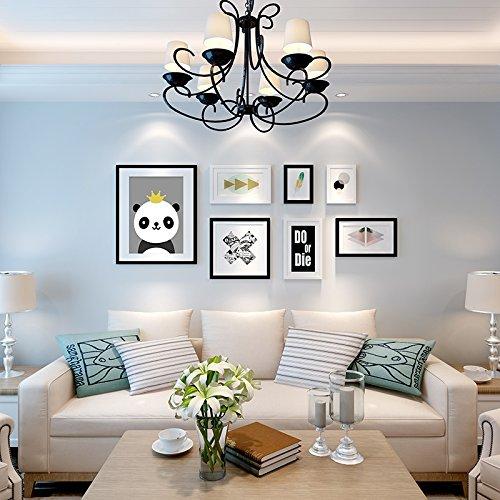Die kreative Wandmalerei Wandmalerei in der Wohnzimmer amerikanische Restaurant.20.Dicke PlatteDassSchwarz und Weiß