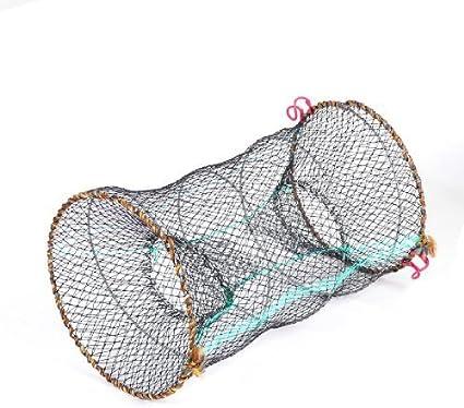 Reliable Nylon Mesh Frame Fishing Shrimping Crawfish Fish Net Trap QP