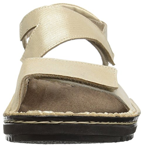 Women's Nubuck Threads Enid Gold Sandals Leather Naot Beige 1A1rF7Zw