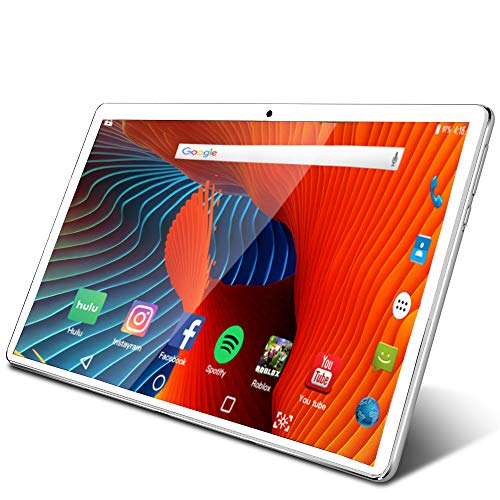 Tablet 10.1 inch Android Tablet with 2GB+32GB, 3G Phone Tablets & Dual Sim Card & 2MP+ 5MP Dual Camera, Quad Core…
