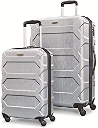 "Magnitude Lx 2 Piece Nested Hardside Set (20""/28""), Silver, Only at Amazon"