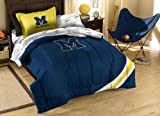 Officially Licensed NCAA Michigan Wolverines Twin Bedding Set