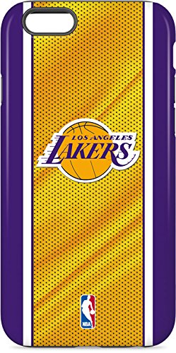 Los Angeles Lakers iPhone 6s Case - Los Angeles Lakers Home Jersey | NBA & Skinit Pro Case ()