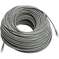 REVO America 200 feet RJ12 Cable with Coupler [R200RJ12C] Grey