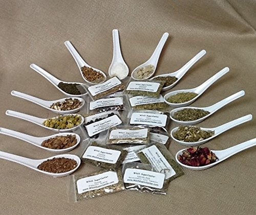 Wicca Herb - Wicca or Hoodoo Herb Spell Kit - 30 Witchcraft Herbs + Magickal Herbs eBook by Witch SuperCenter