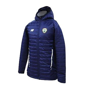 7aadcab8cd25e New Balance Men's Offical FAI Merchandise Ireland Stadium Jacket, Navy,  Small