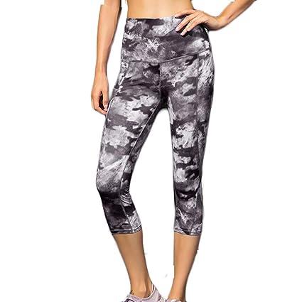Amazon.com: YKARITIANNA LadiesPrinted High Waist Trousers ...
