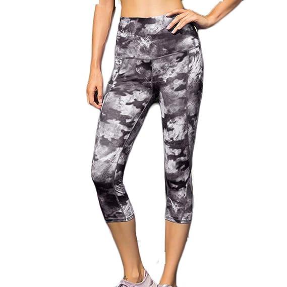 Mamahuhu Pantalones Cortos de Running Mallas Femenina de Correr ...