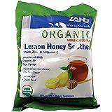 Organic Lemon Honey Soother Zand 18 Lozenge