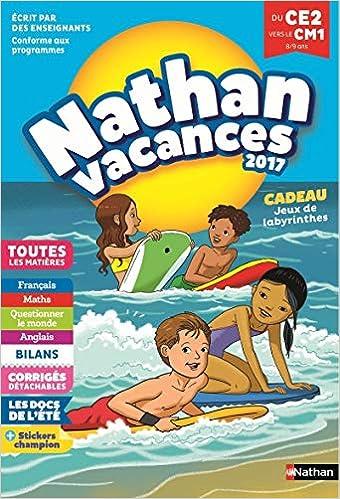 Amazon Fr Nathan Vacances 2017 Primaire Du Ce2 Vers Le