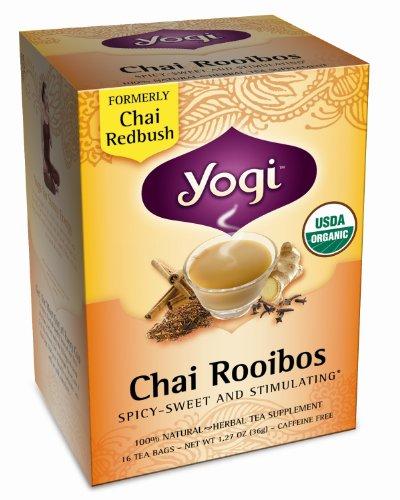 Yogi Tea Chai Rooibos - 16 Sachets de thé