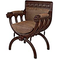 Design Toscano San Lorenzo Renaissance Cross Frame Chair