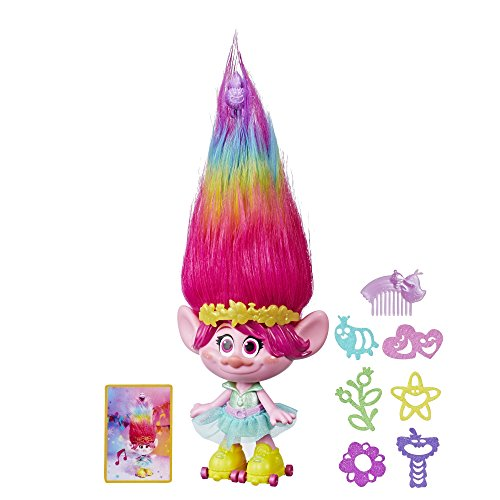 Trolls DreamWorks Party Hair Poppy -