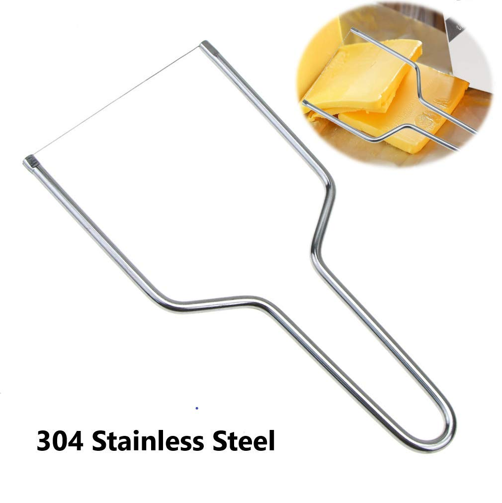 Stainless Steel Cheese Slicers, Handheld Butter Cutter Tools for Soft Hard Block Cheese, Kitchen Tools Knives.