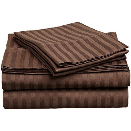 Hotel Quality JB Linen 400 Thread Count 100% Egyptian Cotton Super Soft 4-Piece Sheet Set Queen Sleeper Sofa (60