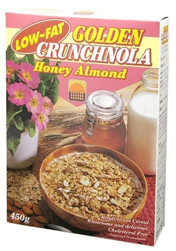 Crunch Nora low fat honey almonds 450g (Crunch Honey Almond)