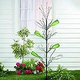 Fun Express - Metal Bottle/Fruit Tree - Home Decor - Outdoor - Yard Art - 1 Piece