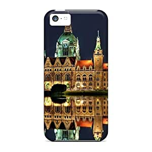 Cynthaskey Iphone 5c Hybrid Tpu Case Cover Silicon Bumper Hanover Town Hall Germany City Architecture