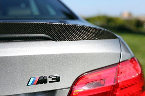 BMW E92 M3 Performance Style Carbon Fiber Trunk Spoiler