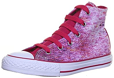 47437813f488 Image Unavailable. Image not available for. Colour  Converse 647643 High Top  Junior Photo Streaming Trainers Size UK 3 4 5