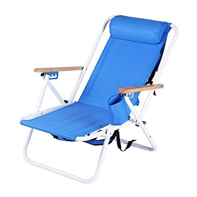 Uorcsa Camping Chair,Portable Chaise Lounges Folding Backpacking Chair, Compact and Heavy Duty Outdoors, BBQ, Beach, Travel, Picnic: Garden & Outdoor