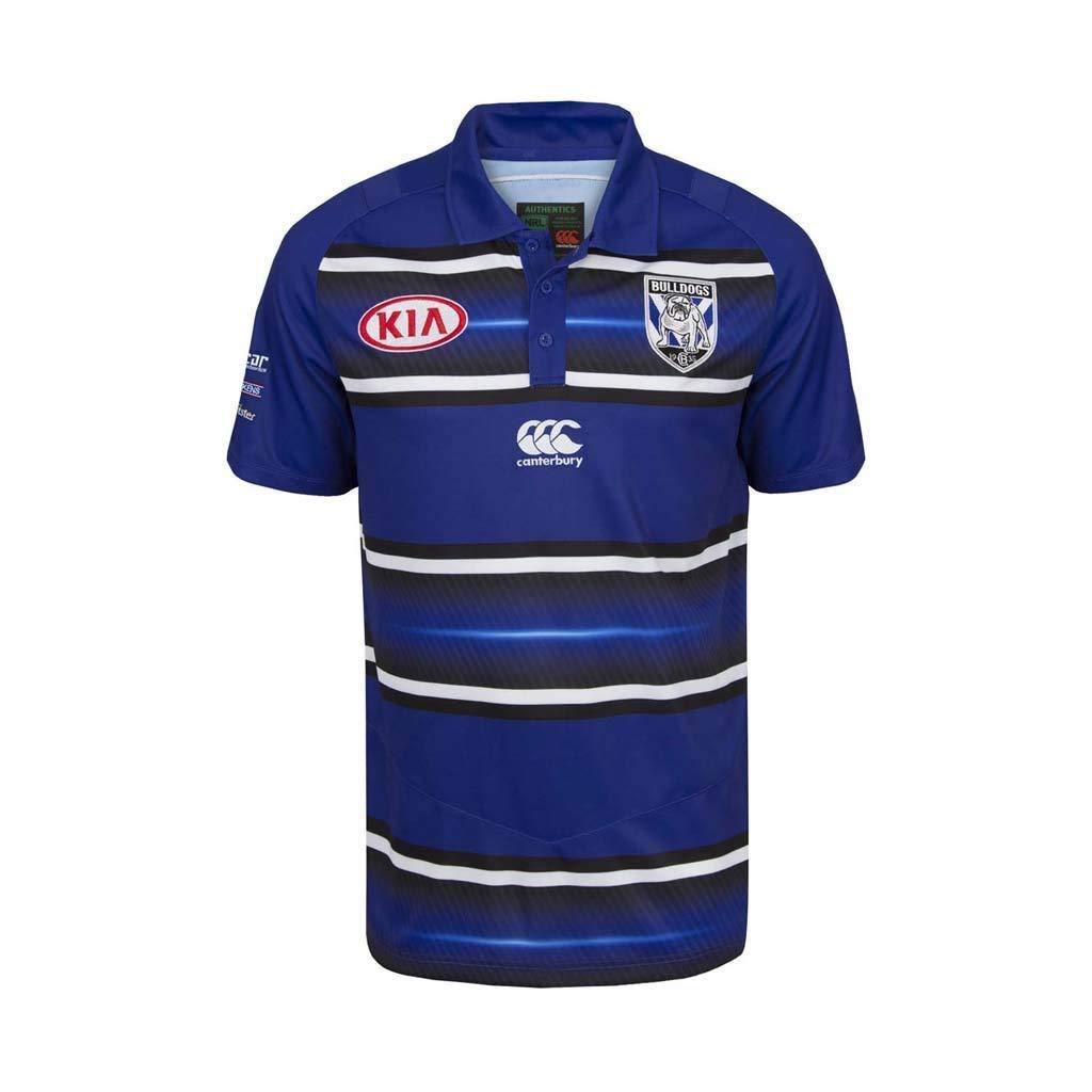 Canterbury Polo Oficial de la pre Temporada de Bulldogs de Rugby ...