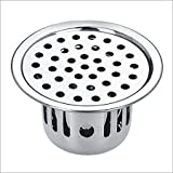 Unknown SBD Stainless Steel Anti-Cockroach Jali/Trap Floor Drain (Chrome Finished)