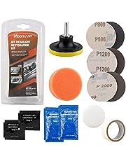 LATO Auto Koplamp Restorer Kit Koplamp Reiniging Tool om Dull Faded Verkleurde Koplampen Geschikt Voor Auto's Fietsen Motorfietsen