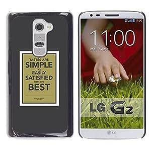 All Phone Most Case / Hard PC Metal piece Shell Slim Cover Protective Case Carcasa Funda Caso de protección para LG G2 D800 D802 D802TA D803 VS980 LS980 simple poster motivational inspiration