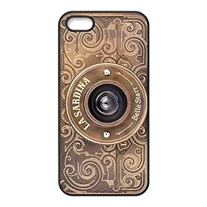 Camera Design Solid Rubber Customized Cover Case for iPhone 5 5s 5s-linda38