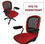 ZIRAKI Memory Foam Chair Armrest Pad, Comfy Office