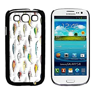 Bass Fishing Lures Galaxy S3 Phone Case