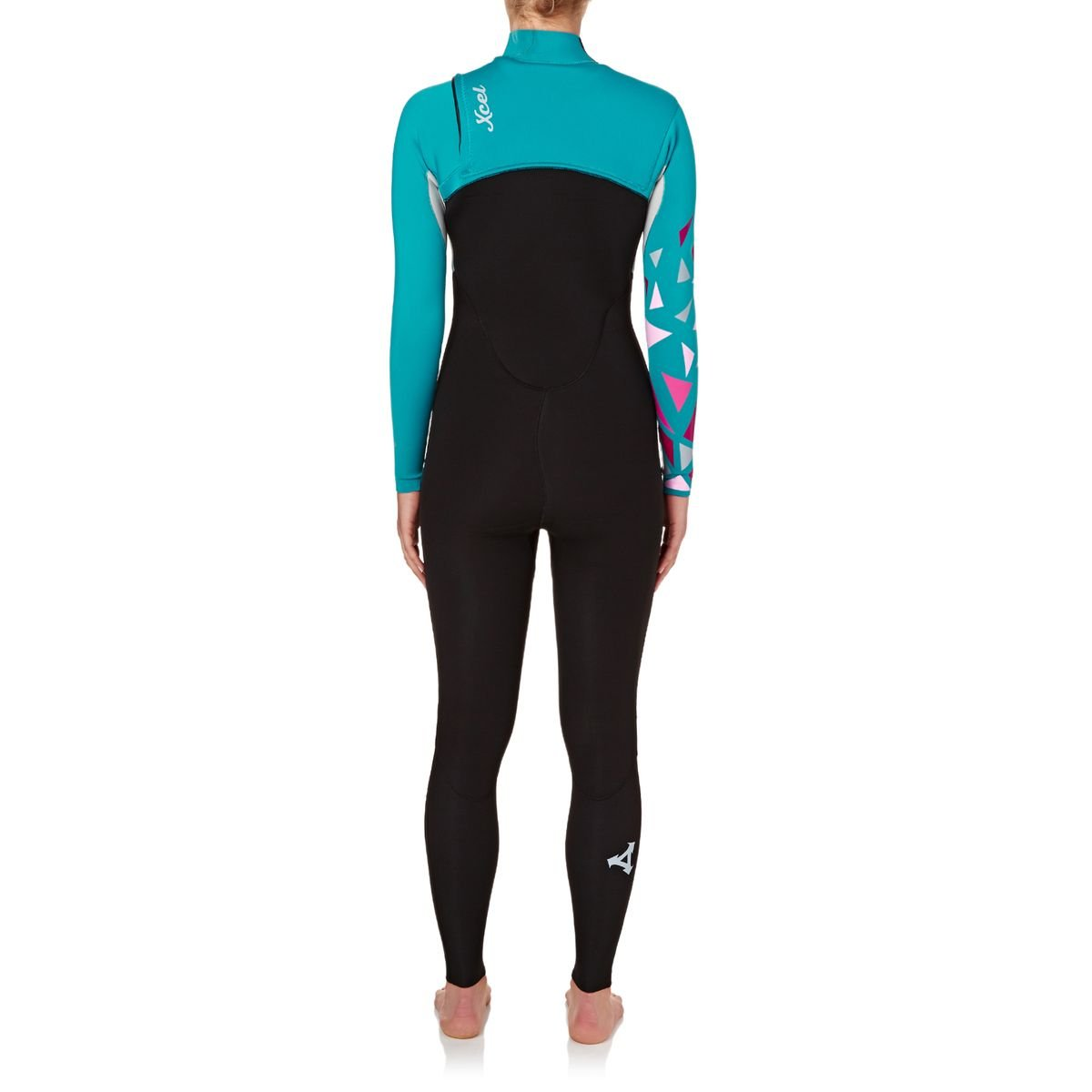 XCEL Women s 2017 Axis Comp 3 2 Wetsuit in Graphite Lake Blue  97d768352