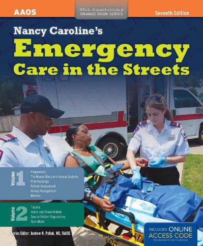 1449645860 - Nancy Caroline's Emergency Care In The Streets (2 Volume set) (Orange Book, 40th Anniversary)