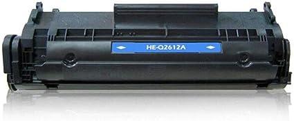 Toner Cartridge Q2612A Cartucho de tóner para impresora láser HP ...