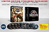 Jurassic Park: 25th Anniversary Collection [SteelBook] [4K Ultra HD Blu-ray]