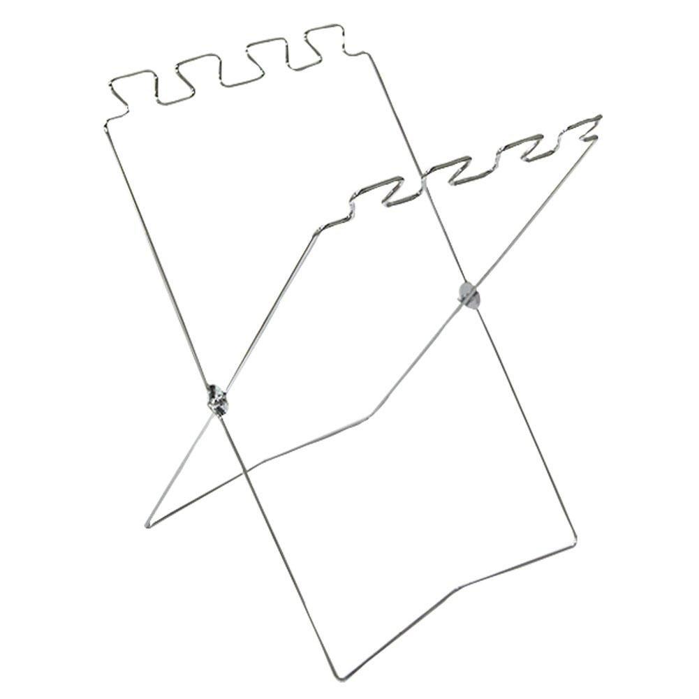 soarflight Bag Caddy Trash Bag Holder,Folding Garbage Bag Frame Holder Portable Fold Up Trash Can Stand Metal for Outdoor Camping Home Kitchen