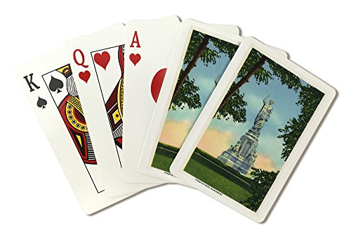 - Plymouth, Massachusetts - View of the Forefathers Monument # 2 (Playing Card Deck - 52 Card Poker Size with Jokers)