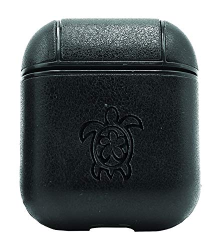 - SEA Turtle (Vintage Black) Air Pods Protective Leather Case Cover - a New Class of Luxury to Your AirPods - Premium PU Leather and Handmade exquisitely by Master Craftsmen