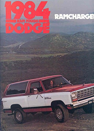 Ramcharger Truck Dodge (1984 Dodge Ramcharger Truck Brochure)