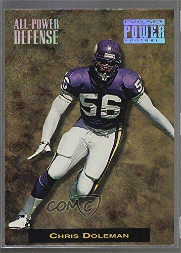 Chris Doleman (Football Card) 1993 Pro Set Power - All-Power Defense #APD 14