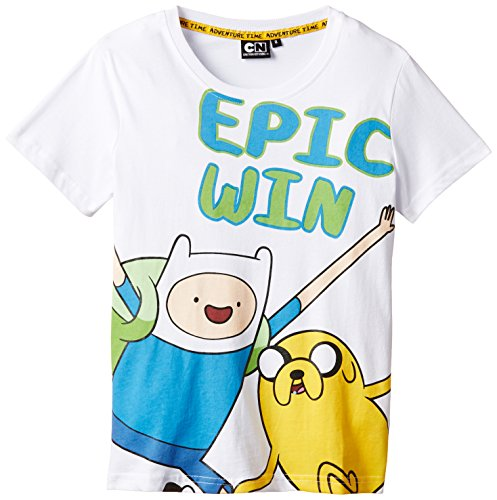 Adventure Camiseta Blanco Camiseta Adventure Chico Chico Time Time xfIqf7r