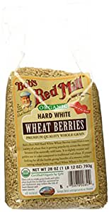 Bob's Red Mill Org Hard White Wheat Berries - 28 oz