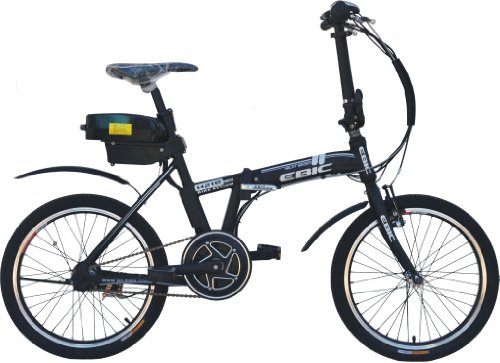 Anbike EBIC H520 Mid/Crank Motor Drive Folding Electric Bicycle, Full Auto, Assist Mode, Black, 20-inch For Sale