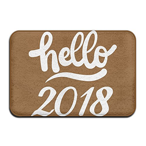 Hello 2018 Indoor Outdoor Entrance Rug Non Slip Car Floor Mats Doormat Rugs For Home (Memory Bath Rug Foam Walmart)