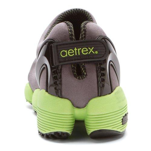Aetrex Heren Modpod Extreme Wandelschoen Grijze Stretchstof