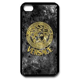 iPhone 4,4S VERSACE LOGO pattern design Phone Case HVL1170639