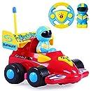 Cartoon R/C Formula Race Car Radio Control Toy by Liberty Imports (ENGLISH Packaging)