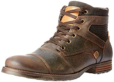 Wild Rhino Men's Dalby Shoes, Dark Brown, 7 AU (41 EU)