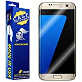 Armorsuit MilitaryShield - Samsung Galaxy S7 Edge Screen Protector [Case Friendly] w/ Lifetime Replacements - Anti-Bubble Ultra HD Screen Protector for S7 Edge - Clear